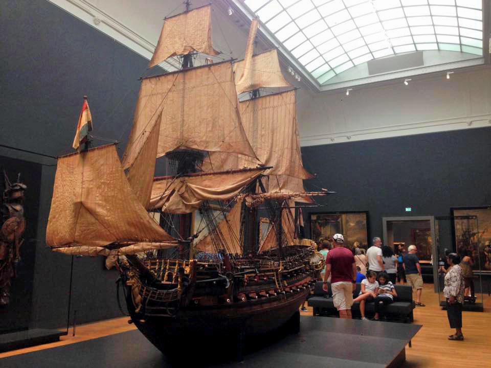 Látogatás a Rijksmuseumban
